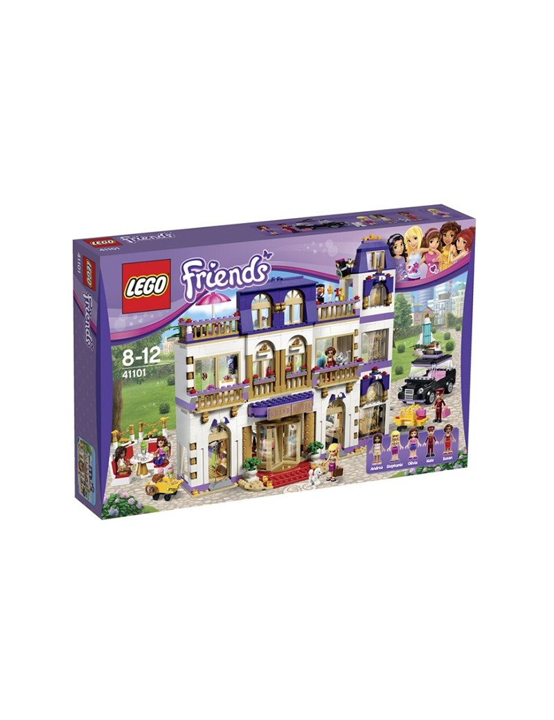 Lego 41101 Heartlake Grand Hotel Lego Friends Bricksdirect Condition New